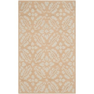 Safavieh Hand-hooked Chelsea Gold Wool Rug (2'6 x 4')