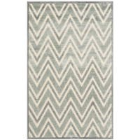 Safavieh Paradise Grey/ Multi Viscose Rug - 2'7 x 4'