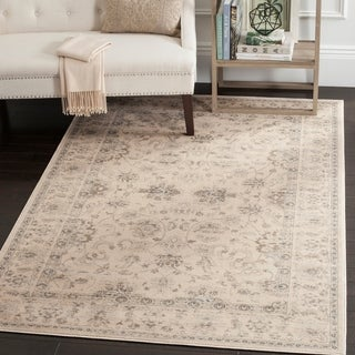 Safavieh Vintage Oriental Cream Distressed Rug (4' x 5'7)