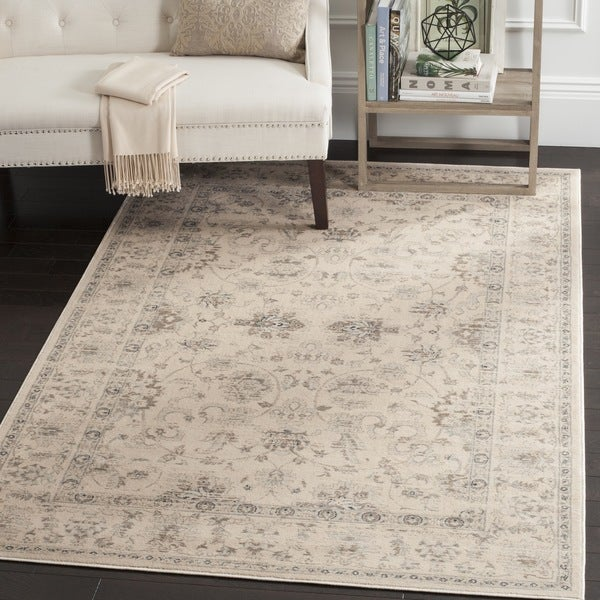 Safavieh Vintage Oriental Cream Distressed Rug 8 X 11