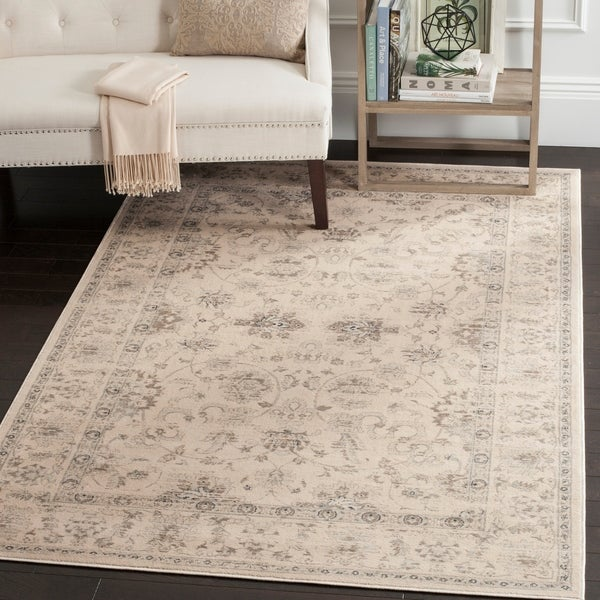 Safavieh Vintage Oriental Cream Distressed Rug - 8' x 11'