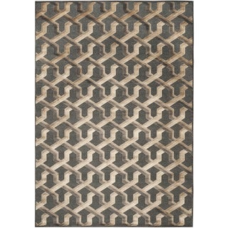Safavieh Paradise Soft Anthracite Viscose Rug (8' x 11'2)