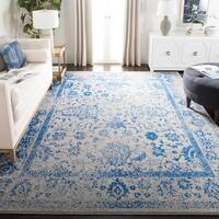 Safavieh Adirondack Vintage Distressed Grey / Blue Rug - 8' x 10'