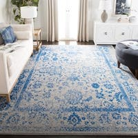 Safavieh Adirondack Dakota Grey / Blue Distressed Rug - 8' X 10'