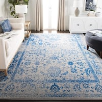 Safavieh Adirondack Vintage Distressed Grey / Blue Rug (8' x 10') - 8' x 10'