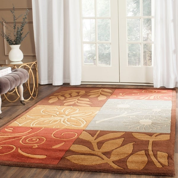 Safavieh Hand-Tufted Bella Multi Wool Rug - 8' x 10'