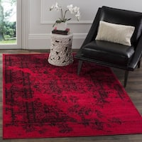 Safavieh Adirondack Vintage Overdyed Red/ Black Rug - 3' x 5'