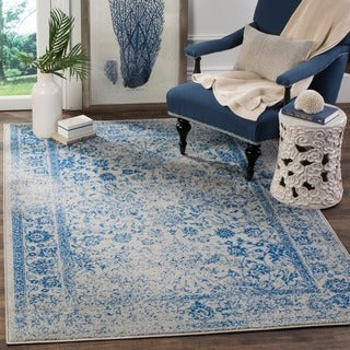 Safavieh Adirondack Vintage Distressed Grey / Blue Rug (3' x 5')