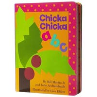 Simon & Schuster Chicka Chicka ABC by Bill Martin Jr.