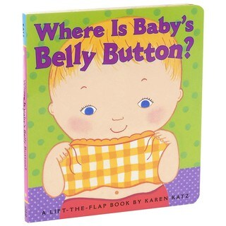 Simon & Schuster Where Is Baby's Belly Button by Karen Katz