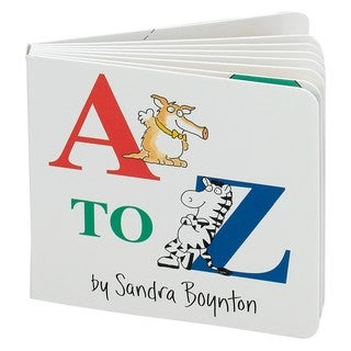 Simon & Schuster A to Z by Sandra Boynton
