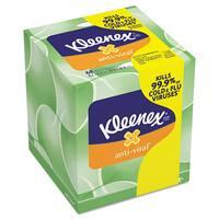 Kleenex Anti-Viral Facial Tissue 3-ply 68-sheet Facial Tissue Boxes (Pack of 27)