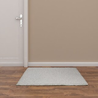 Somette Portside Shag White Rug (3' x 5')