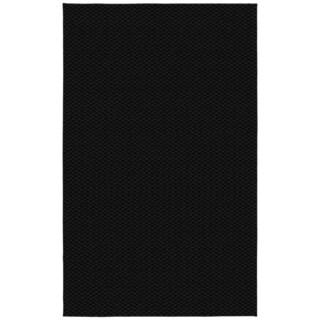 Somette Signature Black Area Rug (9' x 12')