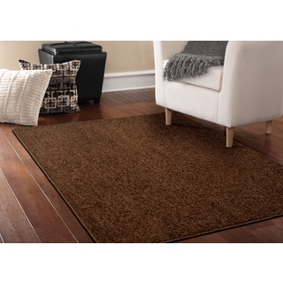 Somette Deluxe Coffee Bean Area Rug (8' x 12')