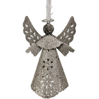 Paper Cut Out Glittered Angel