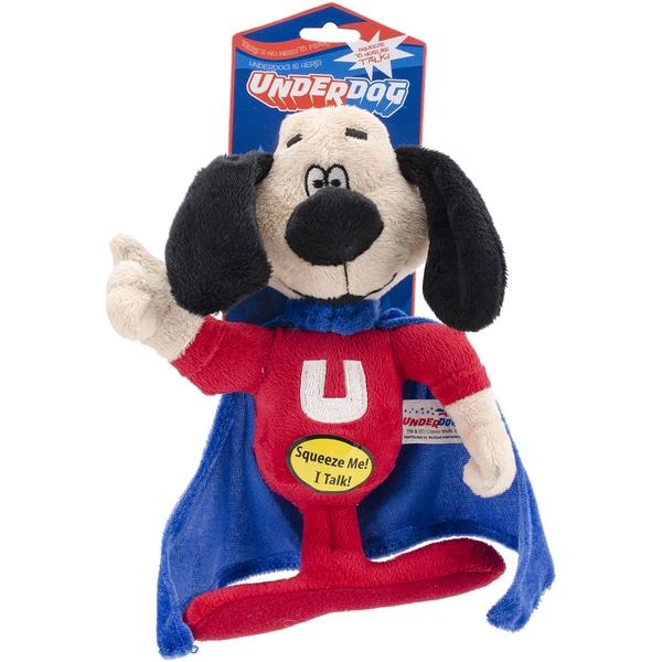 Shop Multipet Underdog Talking Plush Dog Toy Free Shipping On