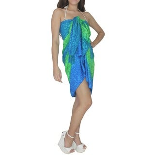 La Leela Beach Pool Cover up.Shawl.Sarong.Skirt Boho.Resort.Hawaii.Trip Toga Dress.Pool