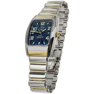 Xezo for Unite4:good Air Incognito Mens Two-Tone Tonneau Automatic Watch|https://ak1.ostkcdn.com/images/products/9720819/P16895436.jpg?impolicy=medium