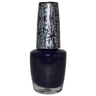 OPI Navy Shatter Nail Lacquer