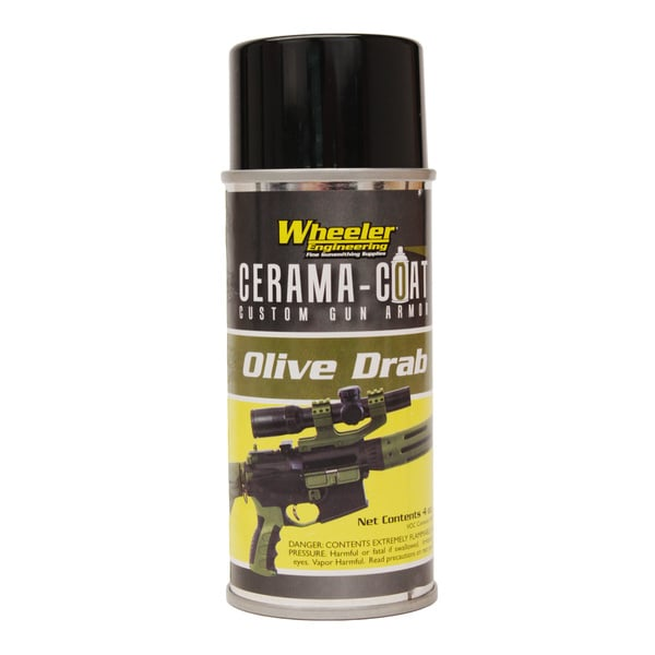 Wheeler Olive Drab Cerama Coat Gun Armor