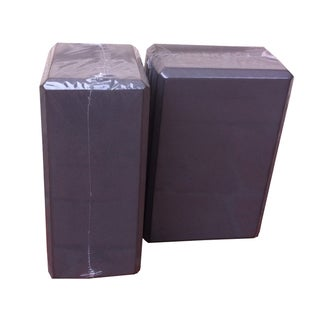 ActionLine KY-79001B 4-inch Yoga Block High-density Brick (Set of 2)
