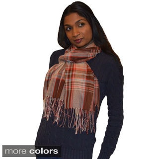 Gorgeous Plaid Pashmina Scarf