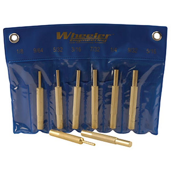 Wheeler Brass Punch Set