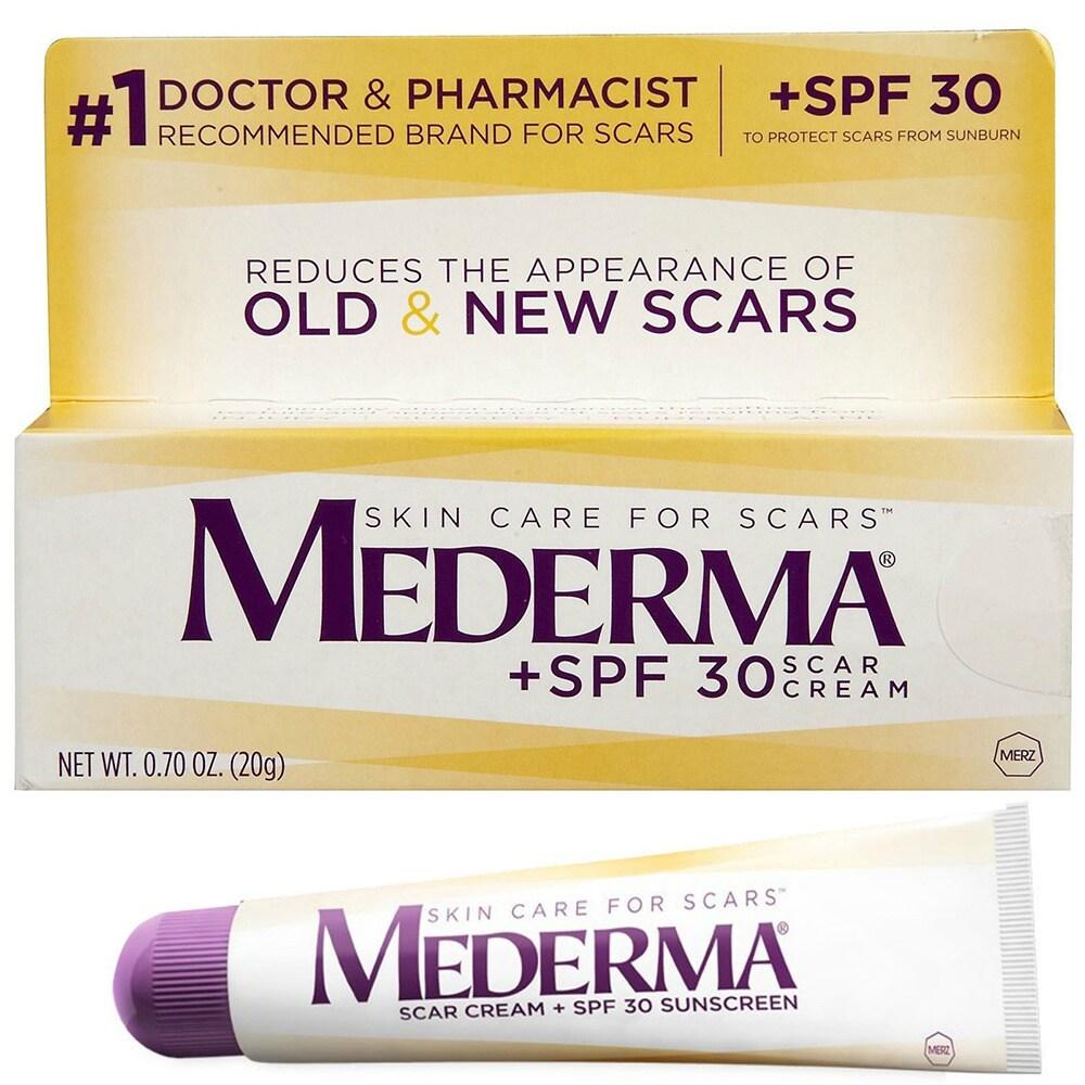 Shop Mederma 0 7 Ounce Spf 30 Scar Cream Overstock 9721088