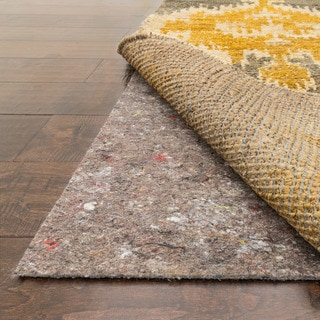 All-surface Non-slip Felted Grey Rug Pad (4' x 6')