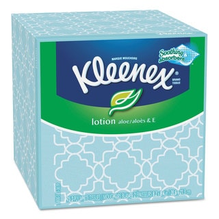Kleenex Lotion 2-ply 75-sheet Facial Tissue Boxes (Pack of 27)