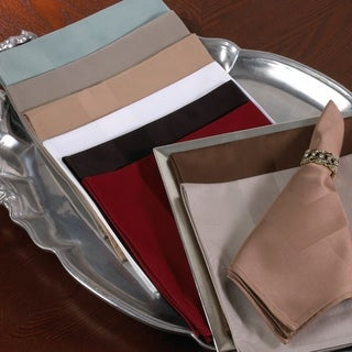Satin Banded Napkin - (Set of 4) (More options available)
