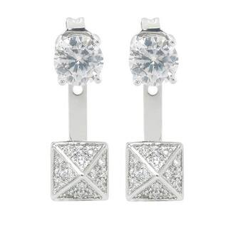 Eternally Haute 2ct TGW Pave Delta Front to Back Earrings|https://ak1.ostkcdn.com/images/products/9721193/P16895734.jpg?impolicy=medium