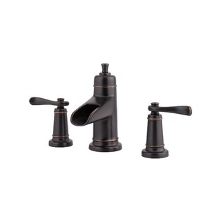 Pfister Ashfield Double-handle Tuscan Bronze Bathroom Faucet