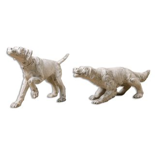 Uttermost Hudson And Penny Ivory Sculptures (Set of 2)