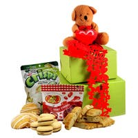 Beary Sweet Valentine's Day Gluten Free Gift Tower, Small