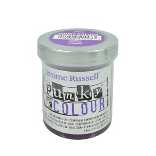 Jerome Russell 3.5-ounce Punky Colour Purple Semi-permanent Conditioning Hair Color