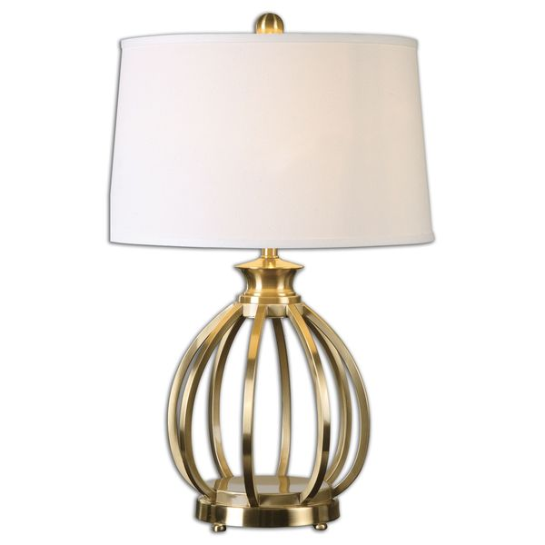 Uttermost Decimus 1-Light Brass Lamp