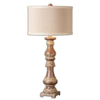 Uttermost Montoro 1-Light Dark Pecan Lamp