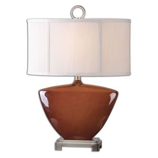 Uttermost Ceadda Rust Red Lamp