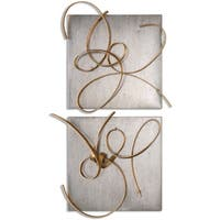Uttermost Harmony Metal Wall Art (Set of 2)