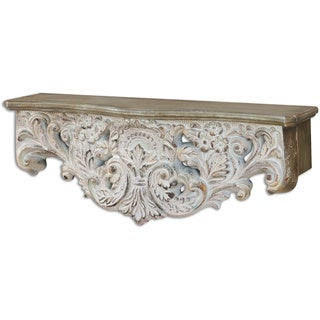 Uttermost Arpaise Ornate Shelf