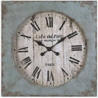 Uttermost 29 Inch Paron Wall Clock