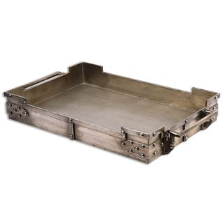 Uttermost Maja Silver Serving Tray