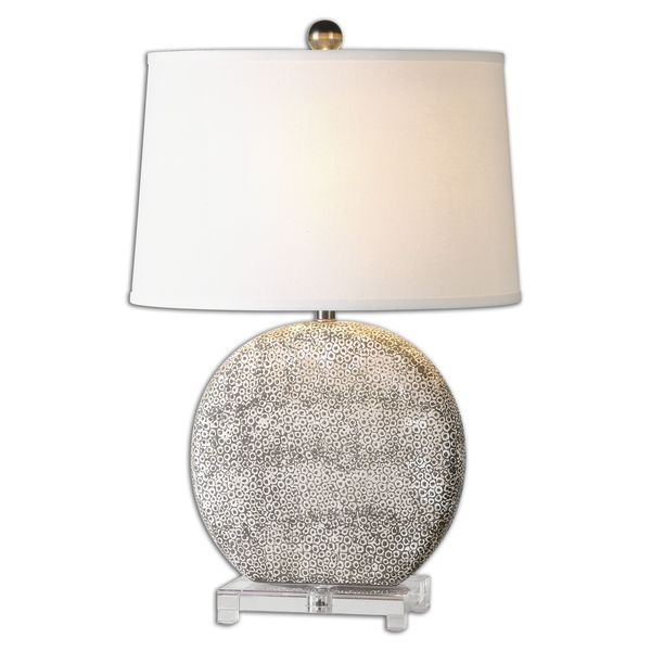 Uttermost Albinus 1-Light Aged Ivory Table Lamp