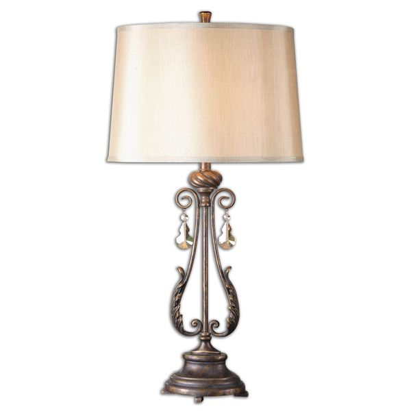 Uttermost Cassia 1-Light Oil Rubbed Bronze Table Lamp