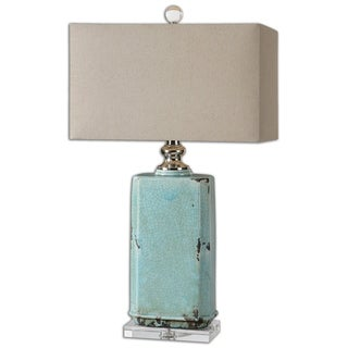 Uttermost Adalbern Teal Table Lamp