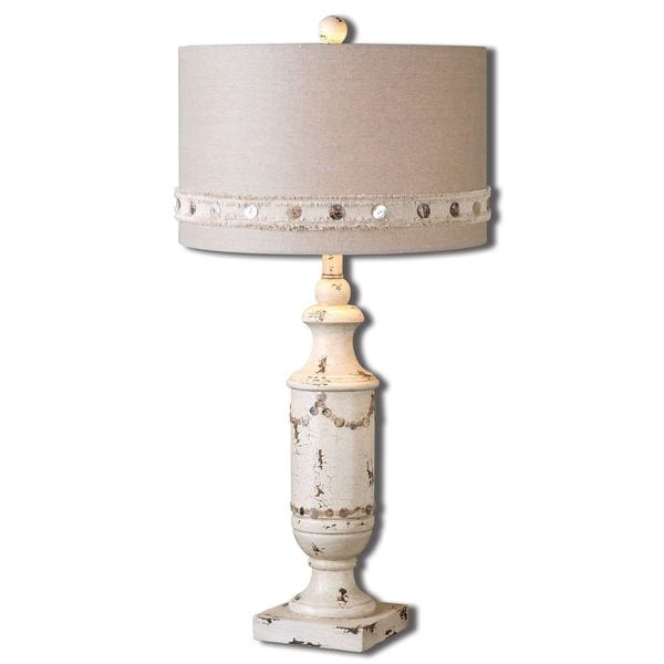 Uttermost Lacedonia Ivory Table Lamp