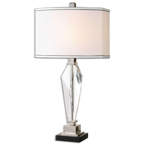 Uttermost Altavilla 1 Light Crystal Table Lamp