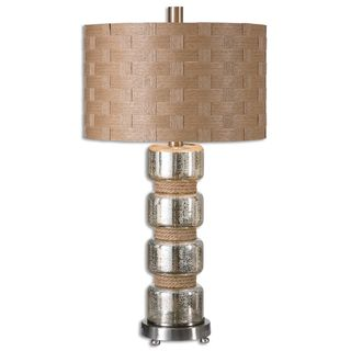 Uttermost Cerreto 1-light Mercury Glass Table Lamp